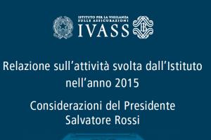 Rapporto IVASS 2015